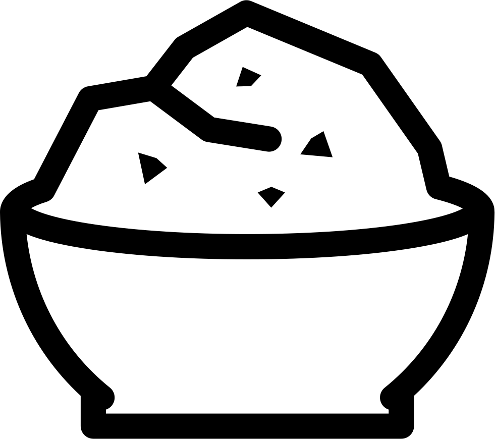 Rice clipart svg. Bowl png icon free