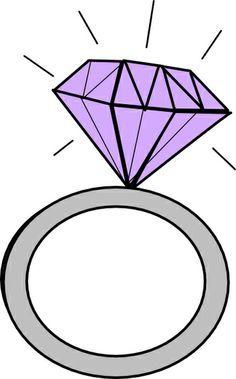Ring clipart. Diamond engagement clipartfest stuff