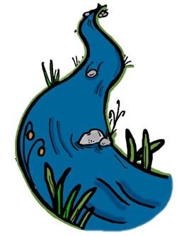 Clip art panda free. River clipart