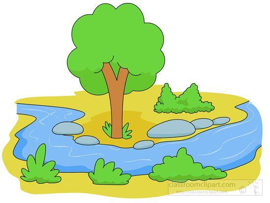 The top best blogs. River clipart