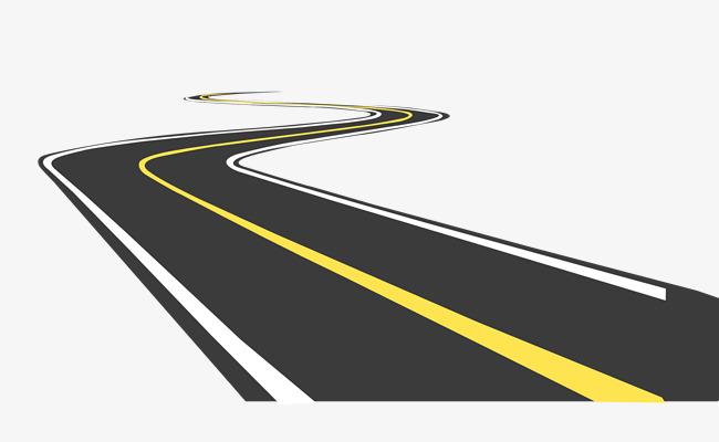 Road clipart. Pictures detour png image