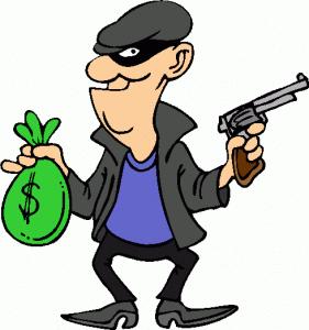 Robber . Burglar clipart rob