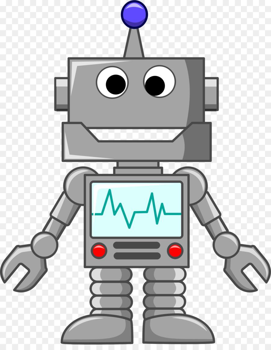 Robotics clip art model. Robot clipart