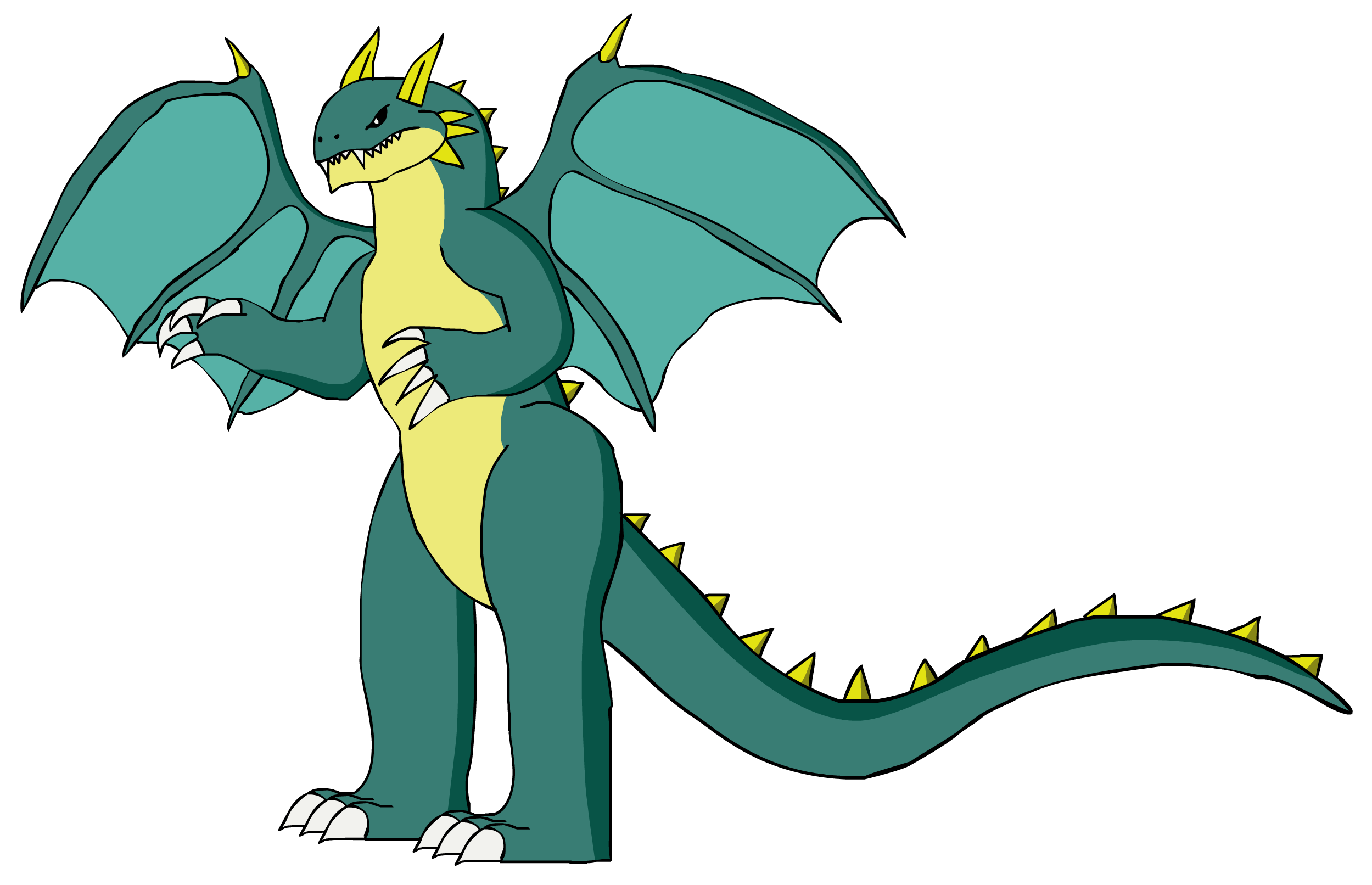Robot clipart dragon. Ice master of by