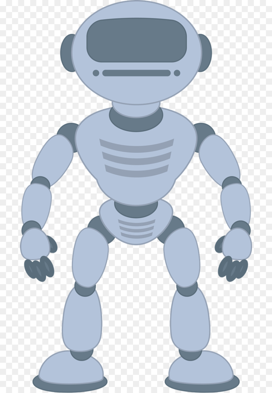 Robot clipart grey. Cartoon png download free