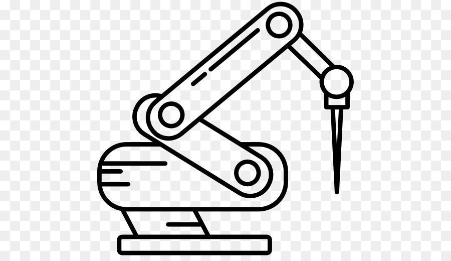 Robot clipart robot arm. Cartoon automation text transparent