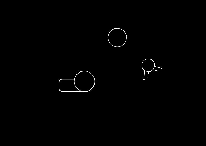 Robotic arm medium image. Robot clipart silhouette