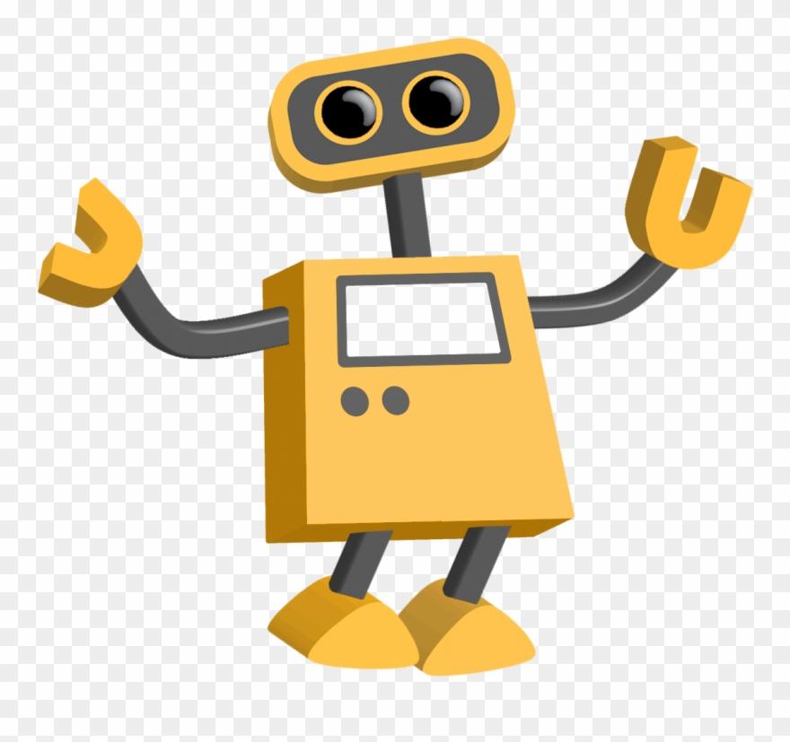 Robot clipart transparent background. Png cartoon