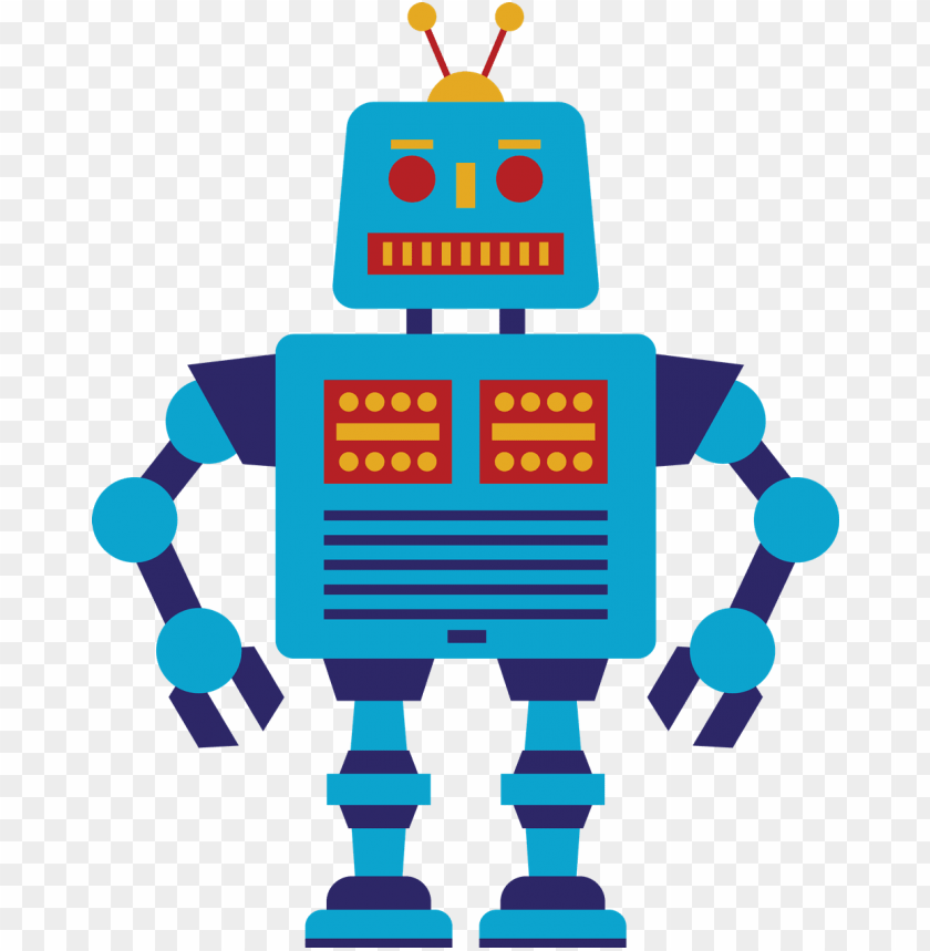 Png image with toppng. Robot clipart transparent background