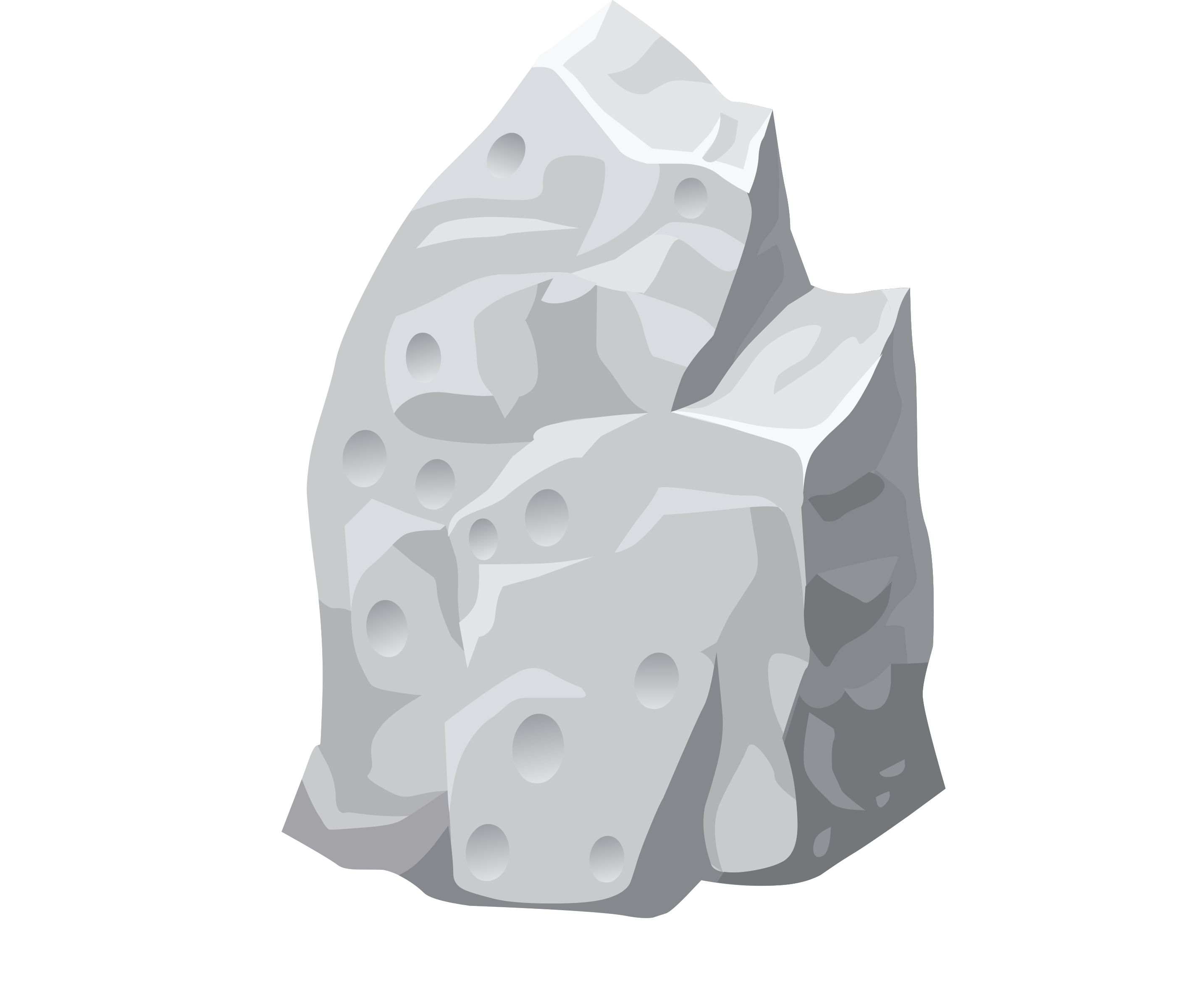 Misc proto dullite icons. Rock clipart outline