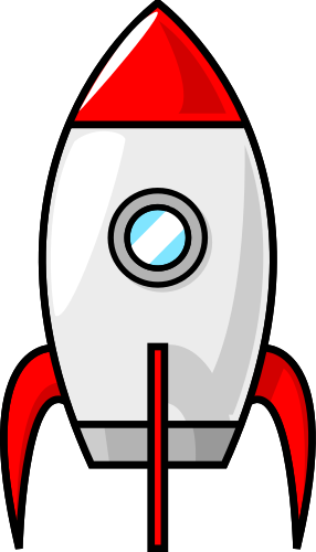 Rocketship clipart. Clip art panda free
