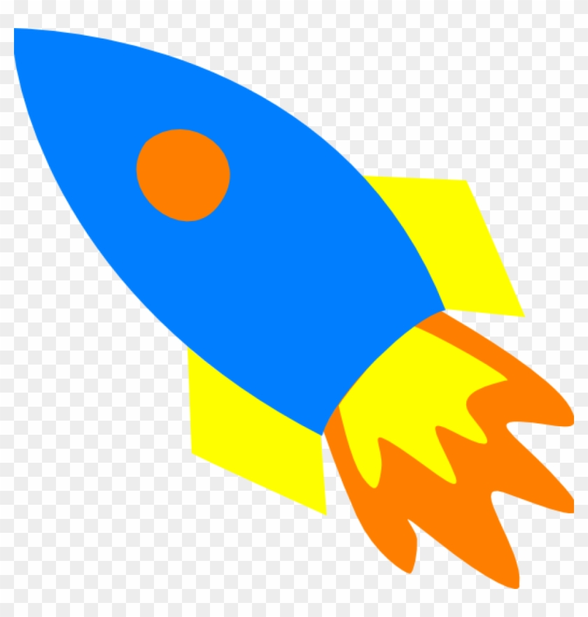 Clipart rocket blue. Rocketship ship clip art