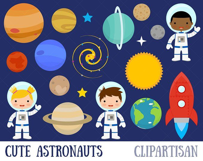 Rocketship clipart astronaut spaceship. Space rocket
