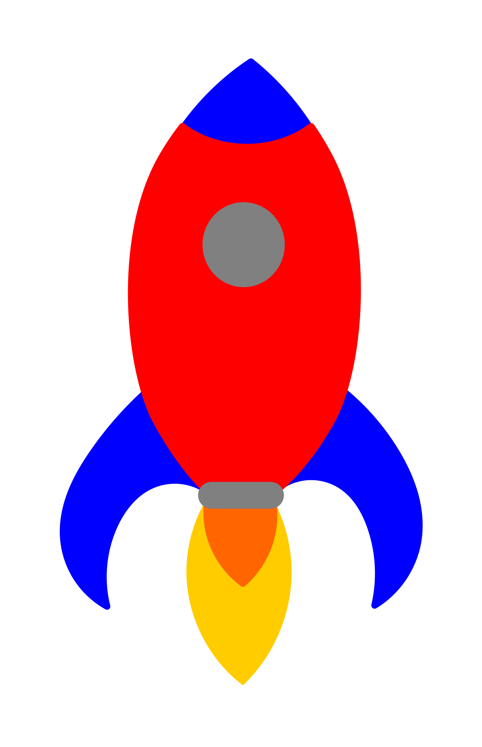 Rocketship clipart rocket exhaust. Primary icons png free