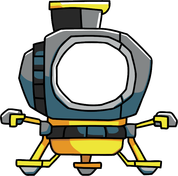 Lunar lander scribblenauts wiki. Spaceship clipart spaceship landing