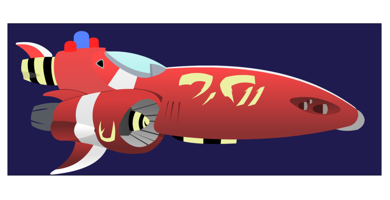The red one by. Spaceship clipart cockpit