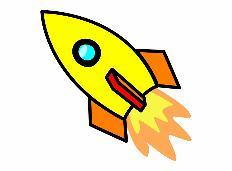 Picture free download clip. Rocketship clipart yellow rocket