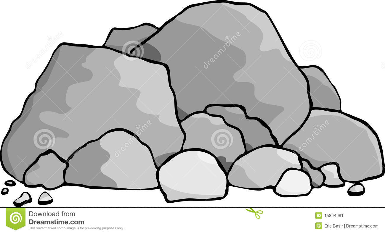 Boulder clipart animated. Rocks panda free images