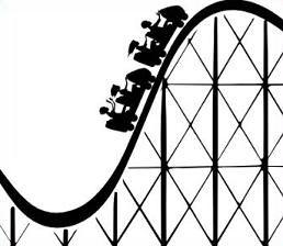 Free cliparts download clip. Rollercoaster clipart