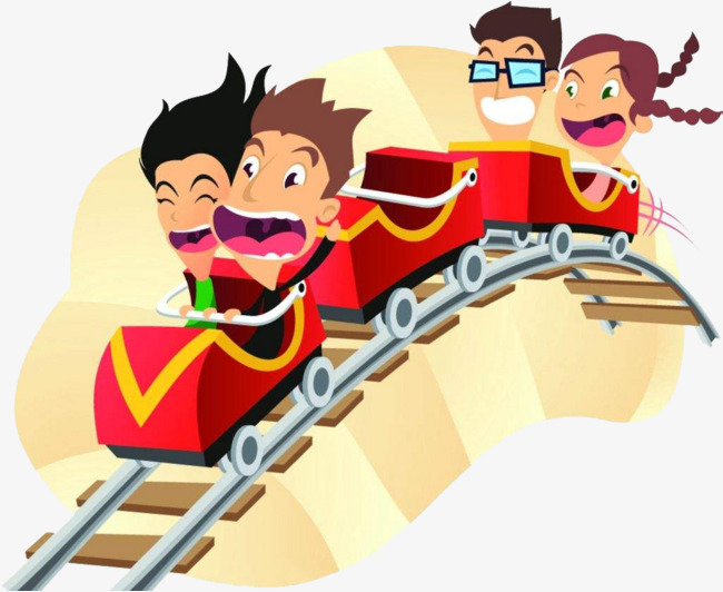 Rollercoaster clipart. Roller coaster track png