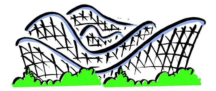 Rollercoaster clipart. Roller coaster free images