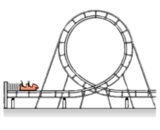 Transparent png stickpng download. Rollercoaster clipart