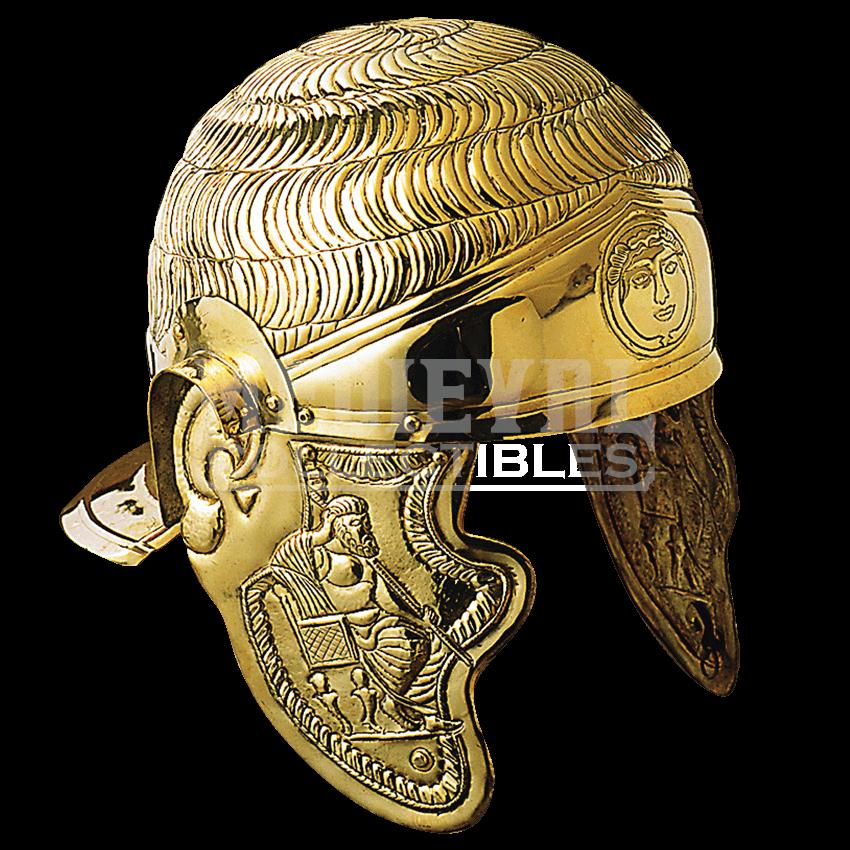 Roman helmet png.  st century cavalry