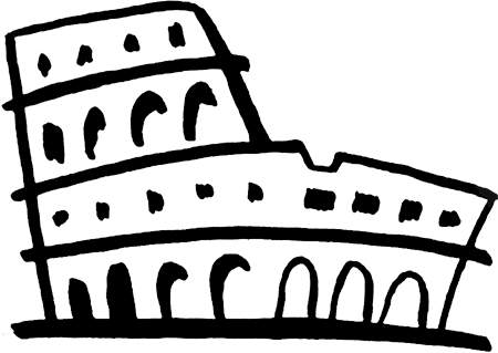 . Rome clipart