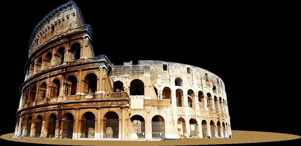 Rome clipart coliseum. Colosseum transparent png mart
