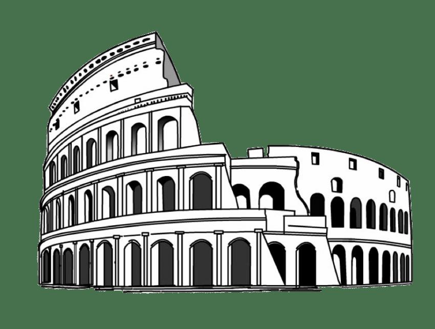 Colosseum png free images. Rome clipart coliseum