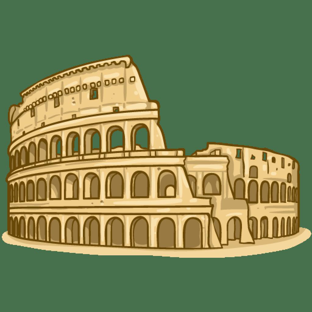 Rome clipart coliseum. Inspirational png wideupdates com