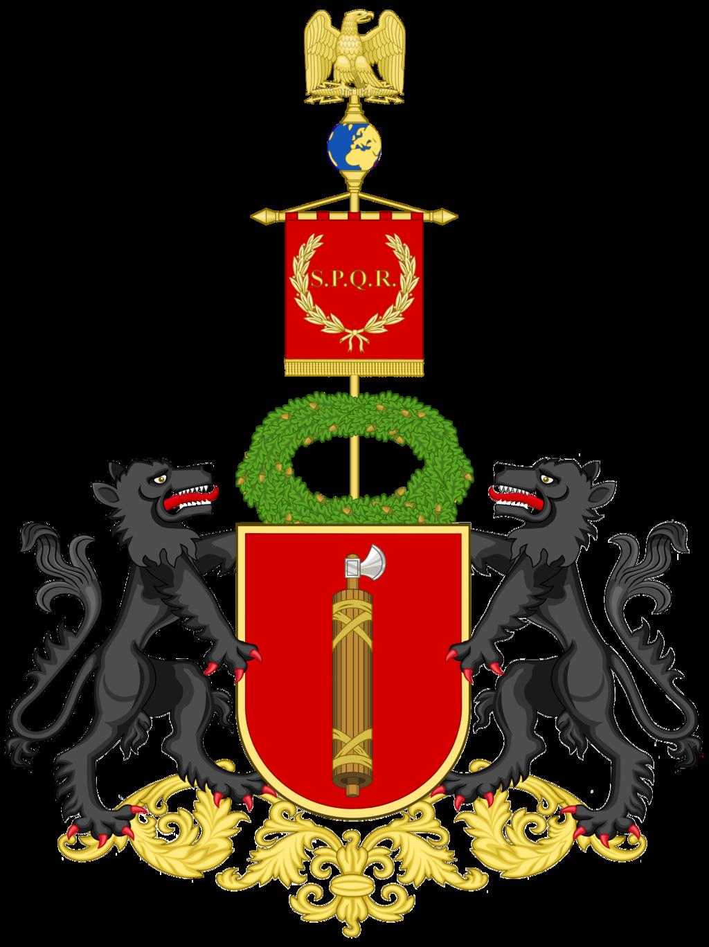 Roman republic and empire. Rome clipart flag rome