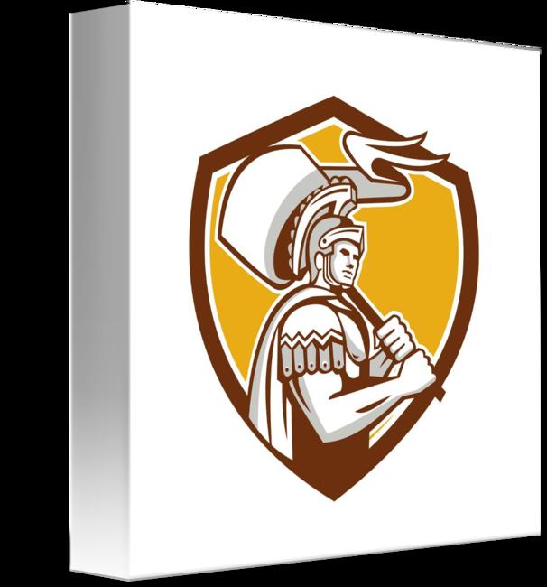 Rome clipart flag rome. Roman centurion carry crest