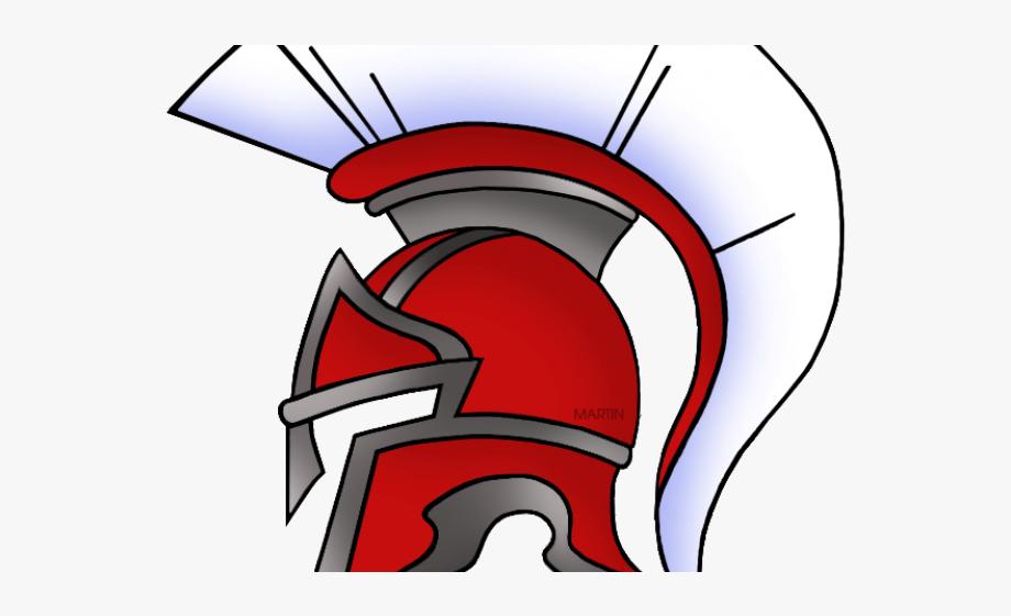 Spartan clipart knight helmet. Roman warriors warrior ancient