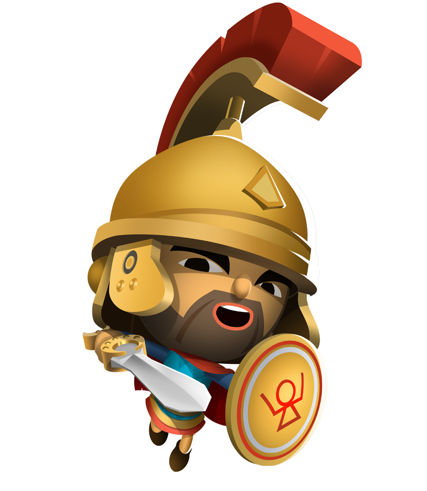 Hannibal the carthaginian general. Warrior clipart war roman