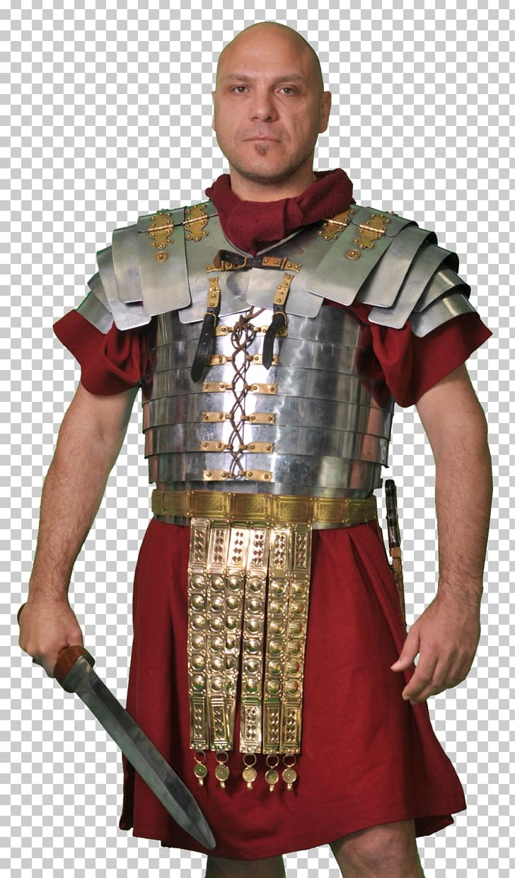 Ancient army soldier body. Rome clipart roman armour