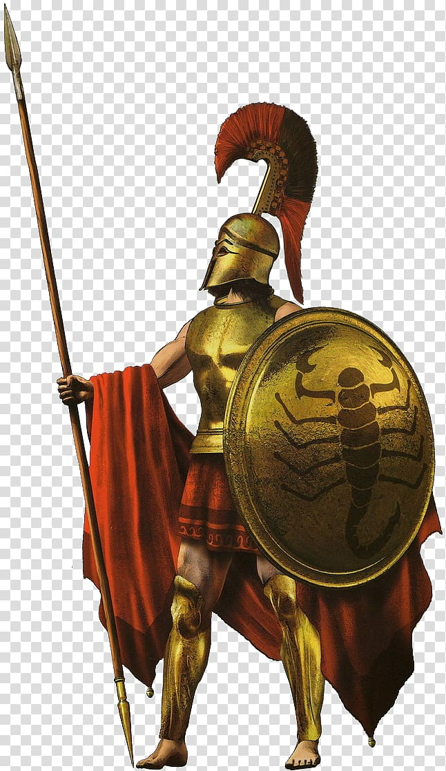 Gladiator holding spear and. Rome clipart roman armour