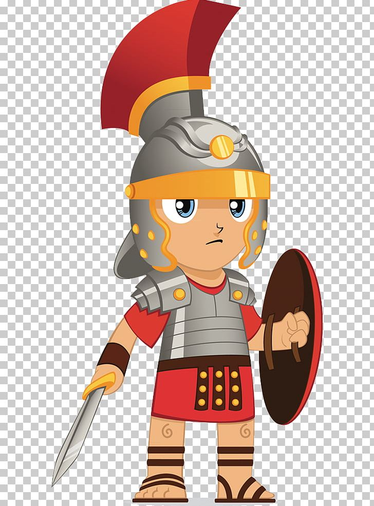 Ancient rome soldier drawing. Warrior clipart roman battle