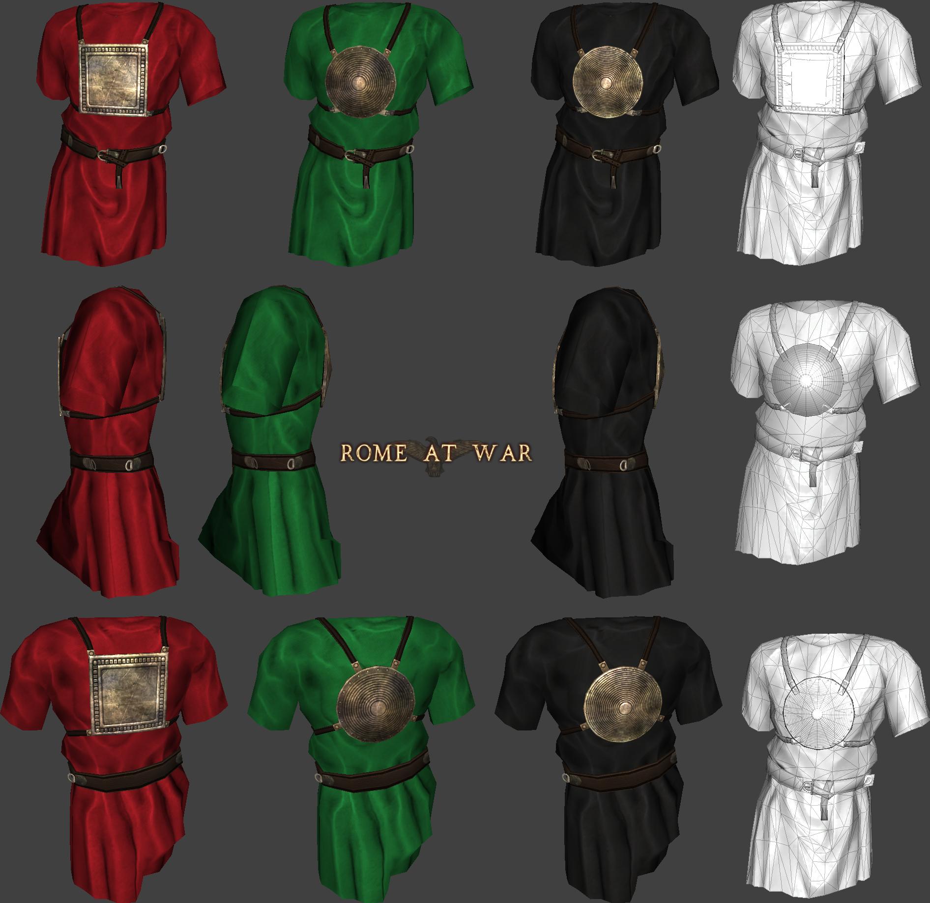 Rome roman clothes