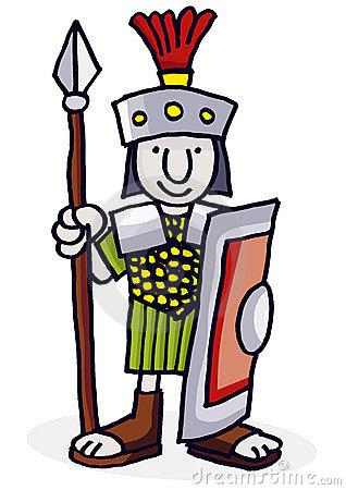 Rome clipart simple. Download roman soldier cartoon