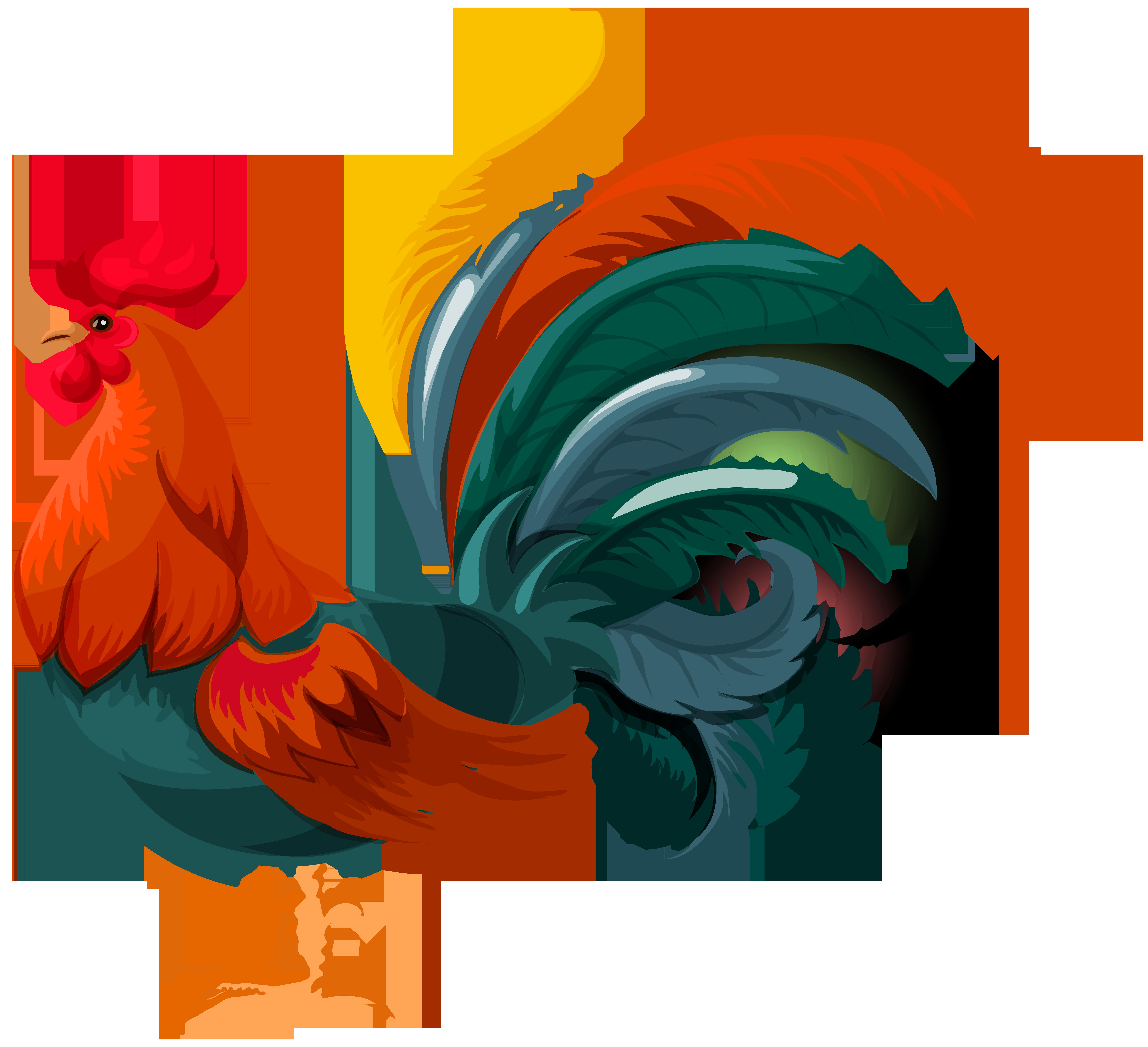 Transparent png clip art. Rooster clipart