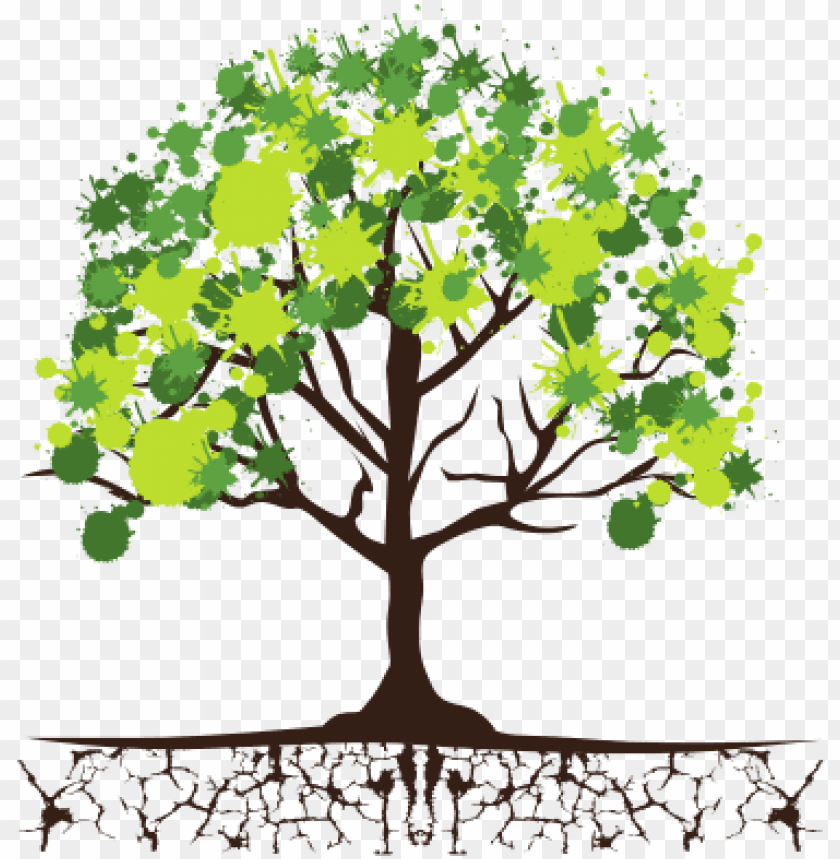With and leaves png. Roots clipart tree icon