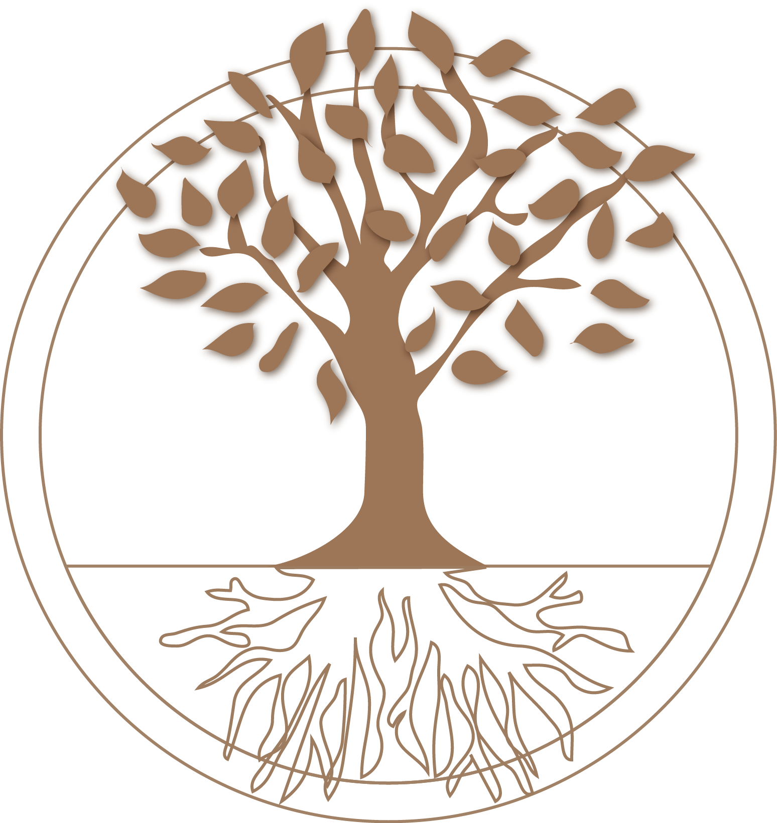 Orchard the . Roots clipart tree icon