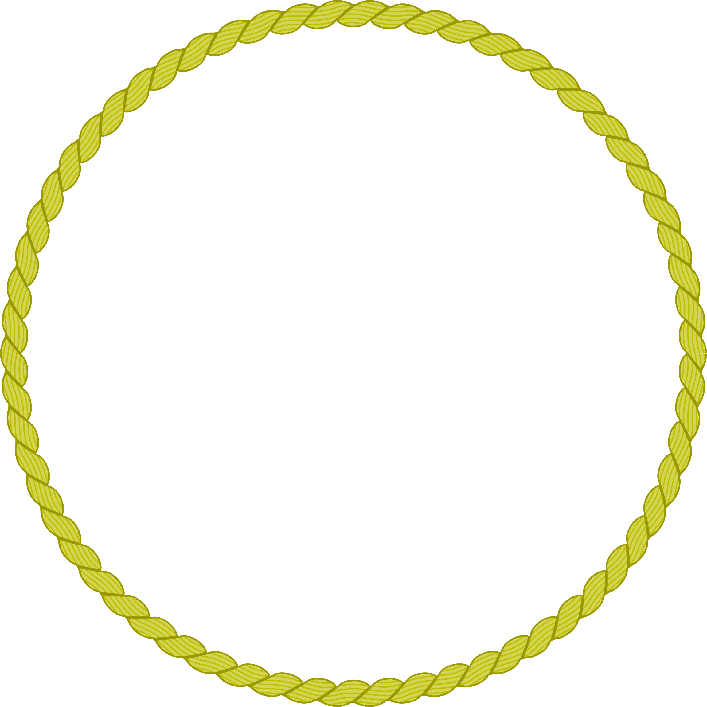 Round icons free and. Rope border png