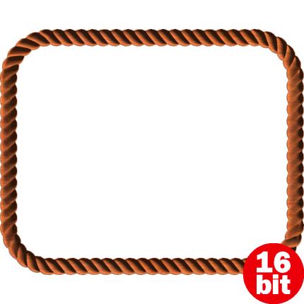 image freeuse download. Rope frame png