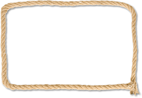 Rope frame png. Clipart library