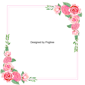 Images vectors and psd. Rose border png