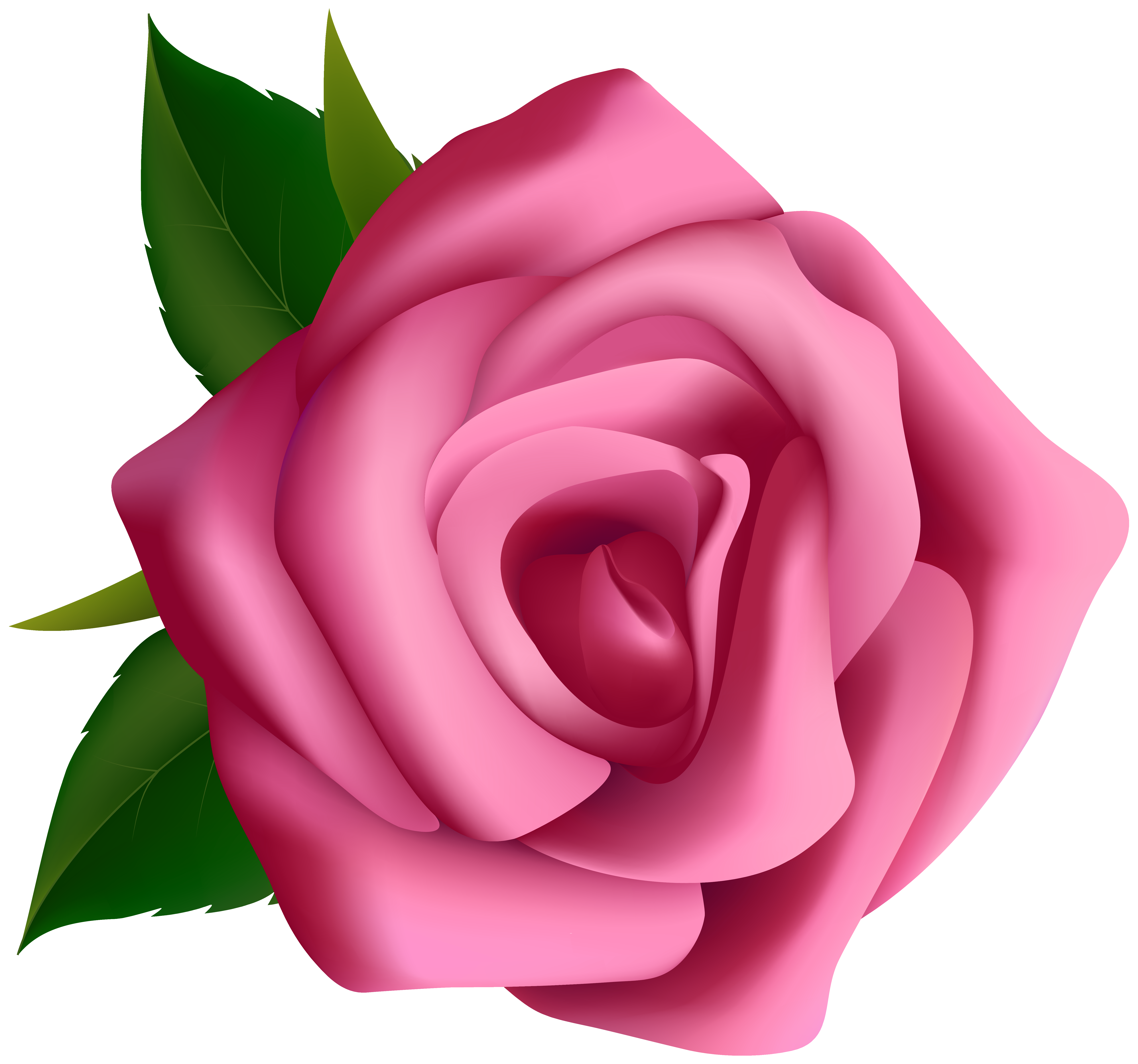 Pink png image gallery. Rose clipart