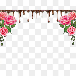 Roses simple candle png. Rose clipart chocolate