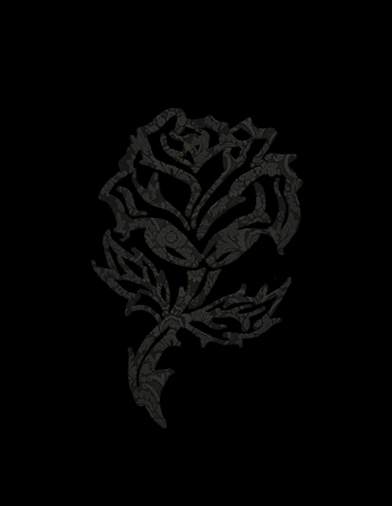 Rose clipart drawn. Jinifur by on deviantart